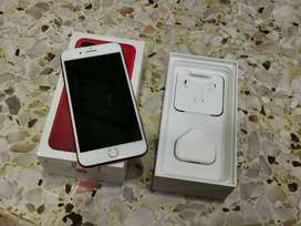 IPhone 7 Plus , 128gb, Excellent condition,  Red color  with bill and
