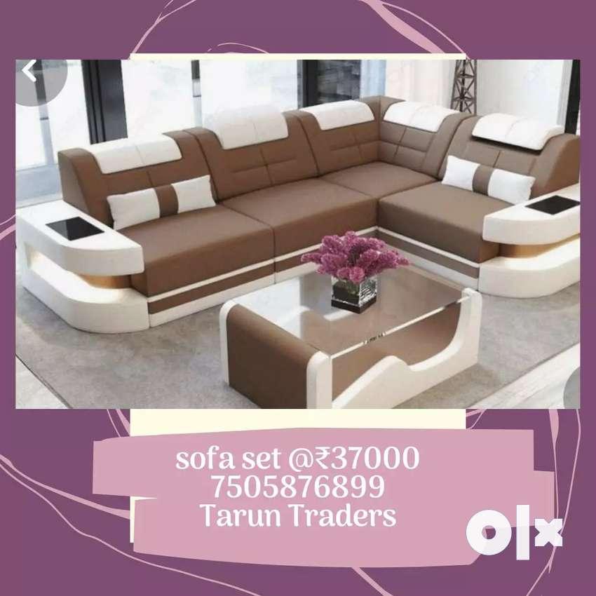 Brand new L shape 8 seater springless sofa avilable 0
