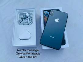 iPhone Xs Max 256gb Brand New Sell/Exchnge Xs Max X 64gb 256gb
