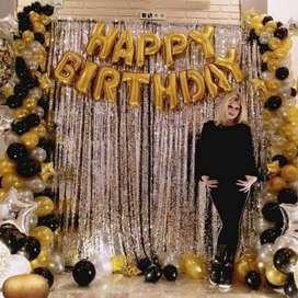 Beautiful Happy Birthday Foil Balloons