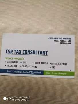 CSR TAX CONSULTANT PUNE