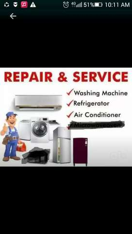 Ac,,fridge,, washing machine service