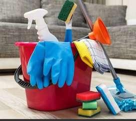 Cari kerja paruh waktu bersih bersih dan gosok. ART