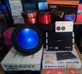 Plus Pasang, Subwoofer Embassy+Power Embassy+Tweeter TS+Box+Kabel2