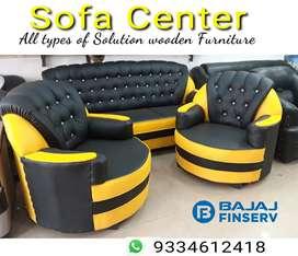 Ajs32 new sofa set 3+1+1