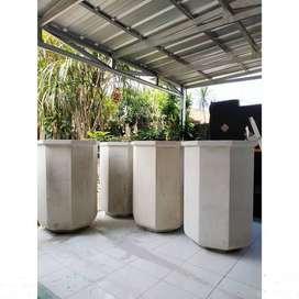 Pot Taman Unik Jumbo Handmade Terazzo T120cm