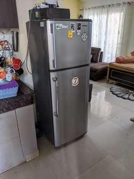 Double door 260 litres fridge on sale
