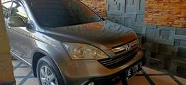 Honda CRV 2.4 matik AG Madiun tahun 2007 abu abu met