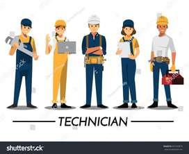 Urgent Required Technician