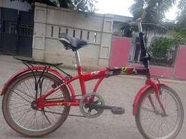 Sepeda lipat odessy R20 single sped