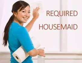 Wanted Full time female house maid
