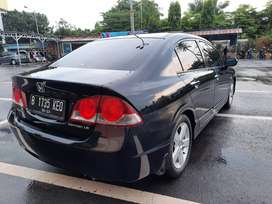 Civic FD 1.8 AT 2007 Hitam Manis