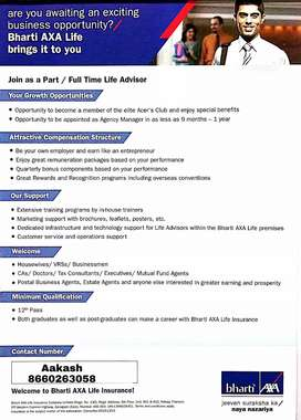 Part time job in Bangalore