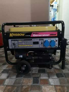 Genset Krisbow 3500W starter