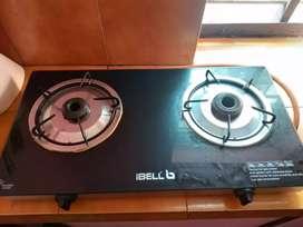 Ibell two burner gas stove