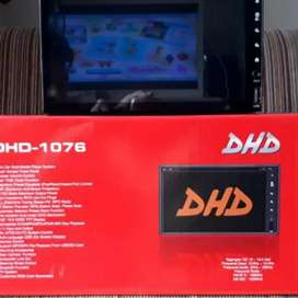 DOUBLE DIN DHD 1076, full glass, autolink, bluetooth