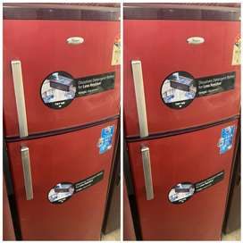 Red colours 250 ltr *** Whilpool 2 door fridge ***