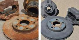 """""""SPARE PARTS BEFORE & AFTER RUST PROOF"""""""