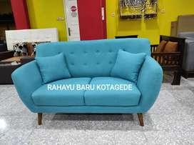 Sofa Scandinavian Retro. Sofa Minimalis. Kursi Tamu Busa. Sofa Retro
