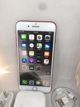 Apple iphone 7+ -128 gb with warranty