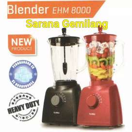 PROMO] TURBO BLENDER PLASTIK / MIKA HEAVY DUTY EHM 8000 2.0 Liter