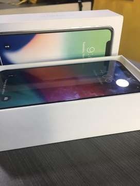 Iphone X 256gb brand new condition with full kit