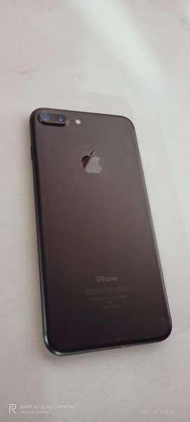 I phone 7 plus  black colur