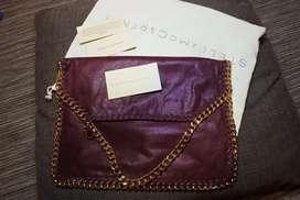 Stella mccartney bag red gold ori