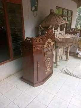 mimbar masjid baru musola