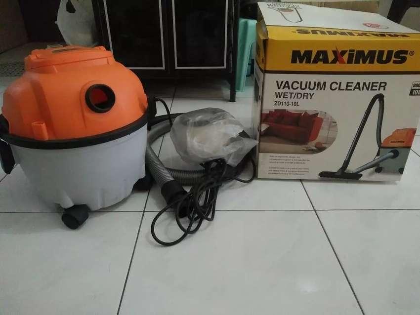 dijual vacuum cleaner wet/dry maximus