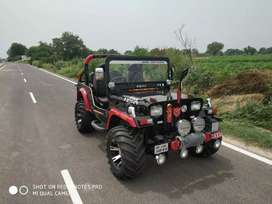 Open and closed Willy Jeep