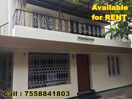2 storied Independent House on rent for Office purpose in Karamana