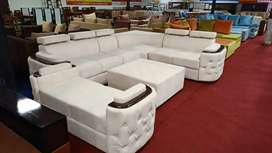 Sofa set New Design with Center table and  divider