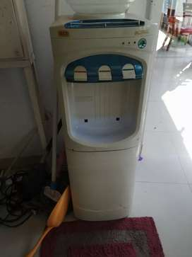 Water heater with freezer