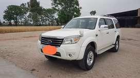 Ford Endeavour 2010 Diesel 103700 Km Driven  company service record