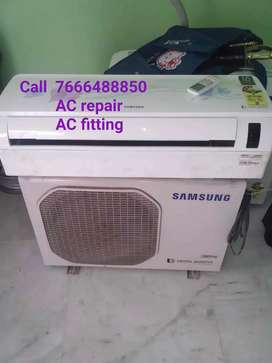 AC repair AC fitting AC service all brand fridge repair
