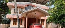 Semi furnished villa for rent