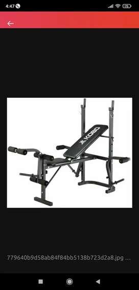 Gym multipurpose bench