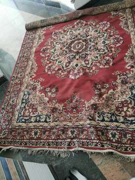Old Kashmiri carpet in very good condition