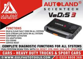 Autoland Vedis 3 Diagnostic System, 2 years updates car scanner