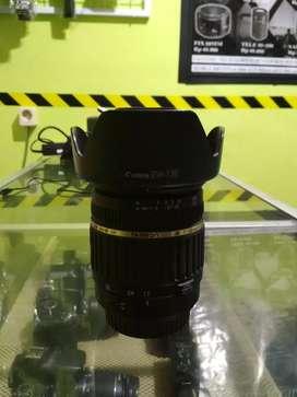 Lensa tamron wide 17-50 f2.8 for canon no jamur