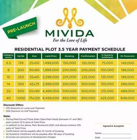 Booking of MIVIDA Islamabad