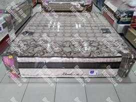 Matras Kangaroo Cambera Plush Top180x200 Coklat Tebal 42CM