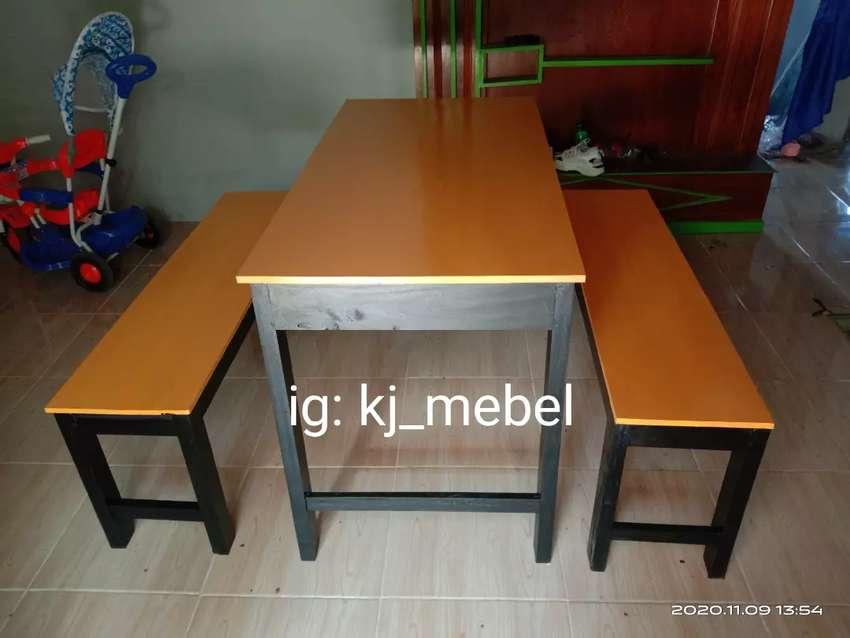 Promo murah meja kursi warung makan