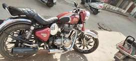 Royal Enfield chrome 550cc
