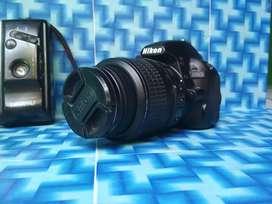 Nikon D3100 lensa kit boks