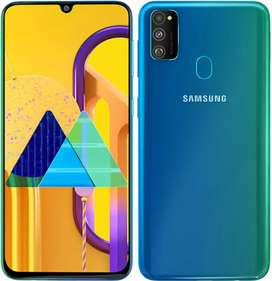 Samsung m30s mobile is on sale 4GB 64gb