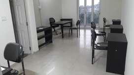 Fully furnished  office in margao above karnataka bank opp garden