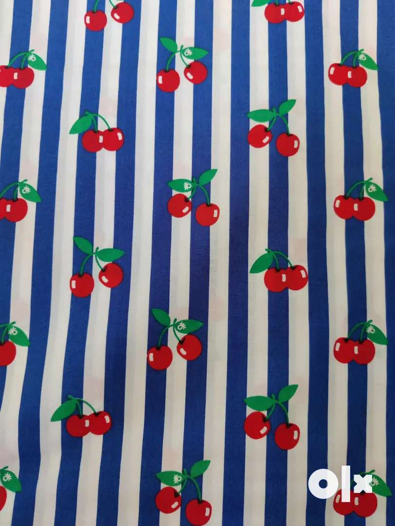 Cartoon Print Cotton Fabric in Quantity only 0