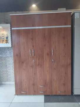 5x7 Wooden almirah best quality in market 6499 adv 2166x6 emi